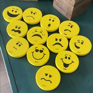 Emoji foam stamps